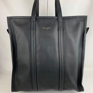 New Balenciaga Black Italian Medium Bazar Shopper